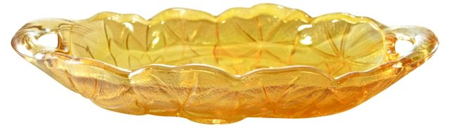 Carnival Glass Dish