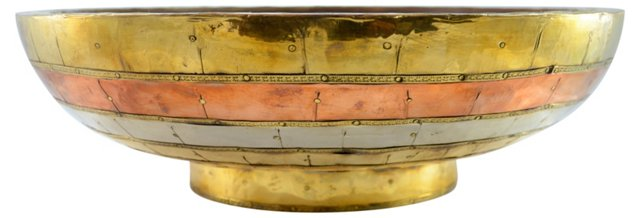 Copper & Brass Bowl