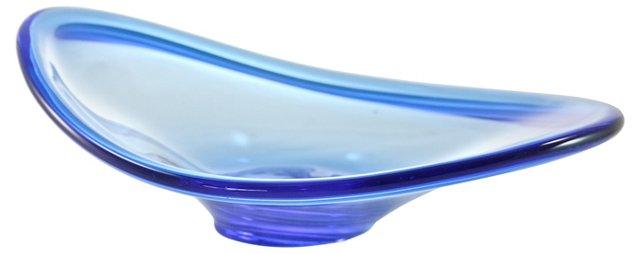 Royal Blue Murano Bowl