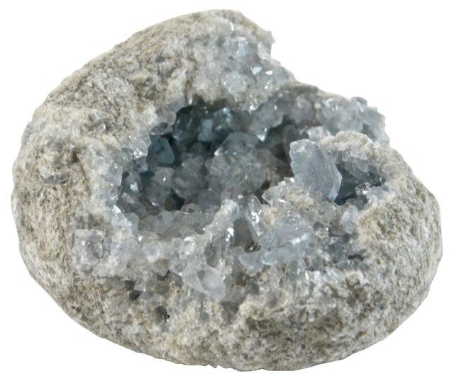 Blue Crystal Geode