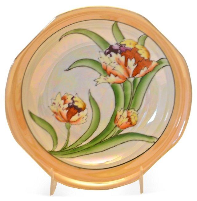 1920s Tulip Lusterware Bowl