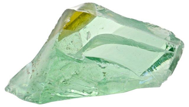 Aqua-Green Slag Glass