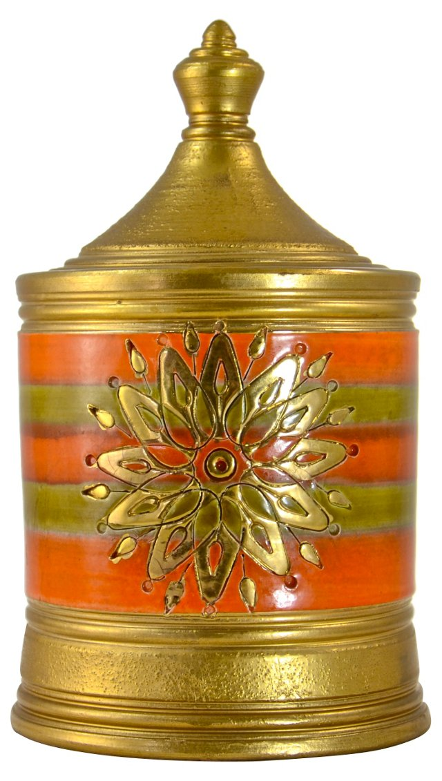 Italian Midcentury Bitossi-Londi Jar