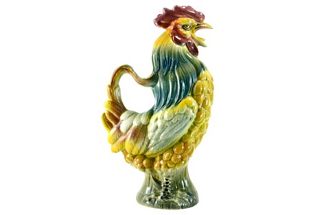 C. 1900 French Rooster Pitcher
