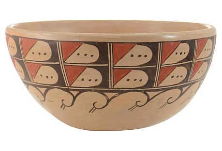 Hopi Wave Bowl