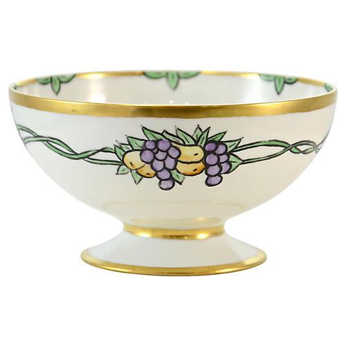 French Haviland Pedestal Bowl