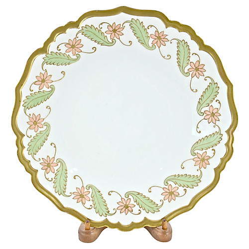 1890s Gilt Pastel Limoges Tray