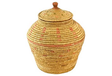 Native American Woven Jar