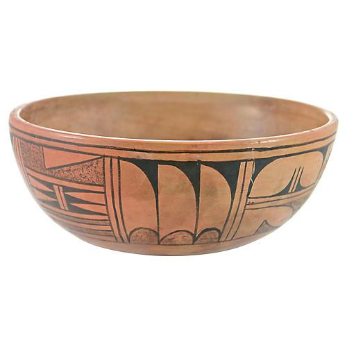 Hopi-Style Fine Line Bowl