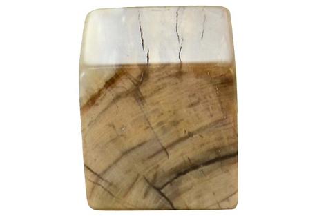 Petrified Wood Block