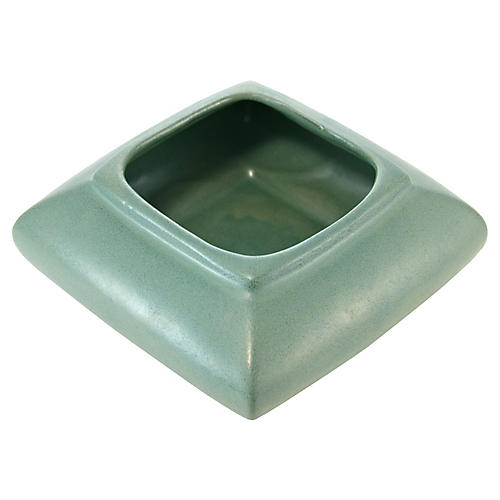 Aqua Green Square Catchall
