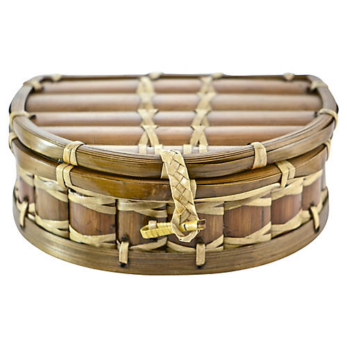 Split Bamboo Box