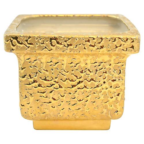 1950s Gold-Encrusted Urn