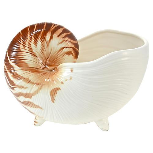 Nautilus Shell Bowl