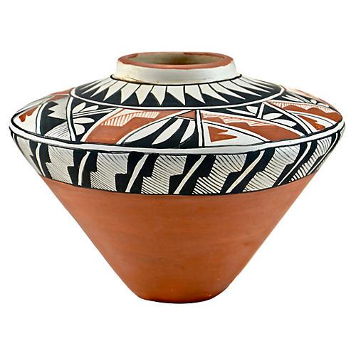 Acoma Pueblo Pottery Jar
