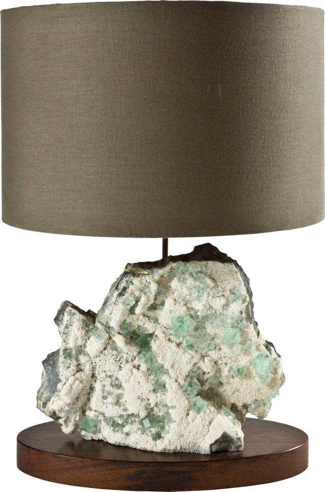 Fluorite Lamp