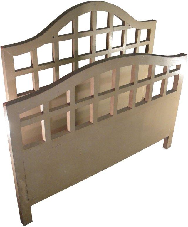 Khaki Painted Bed, Full