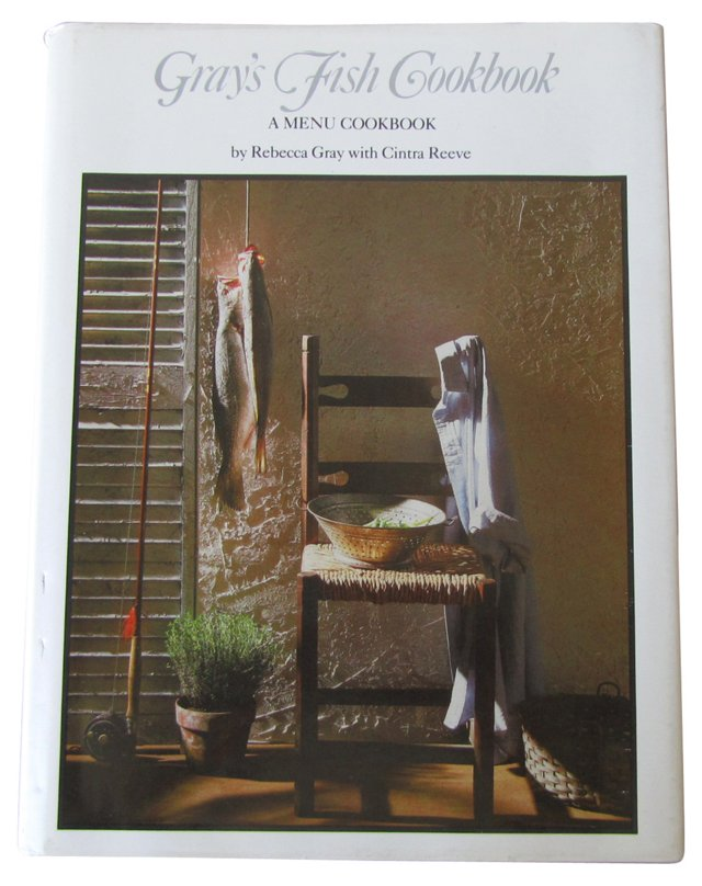 Gray's Fish Cookbook, Signed