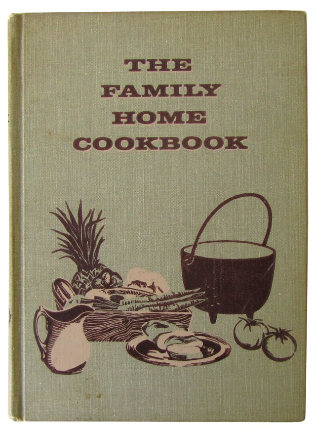 The Family Home Cookbook, 1963