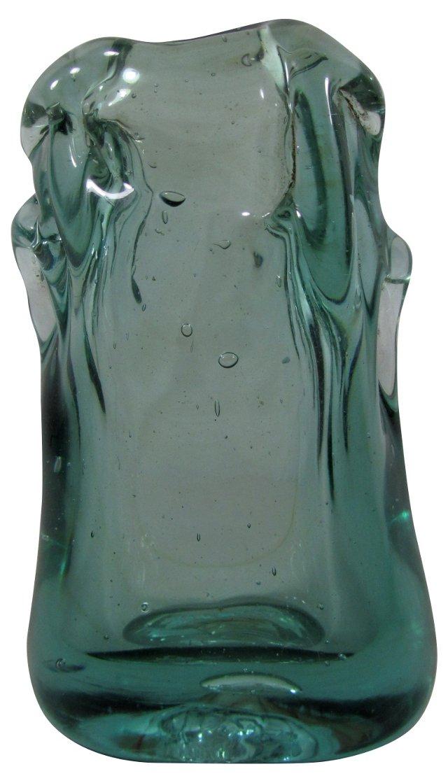 Blown-Glass Bud Vase
