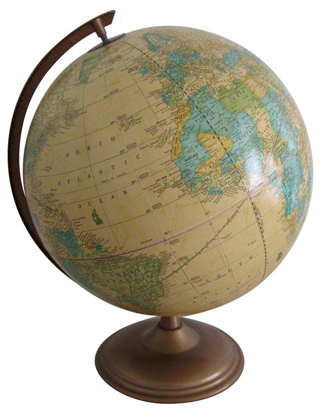 Cram's Imperial Yellow World Globe