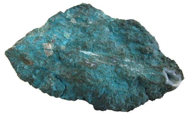Turquoise Colored Rock Specimen