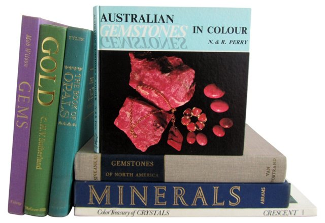 Gems & Minerals Collection, S/7