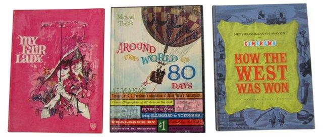 Midcentury Movie Books, S/3