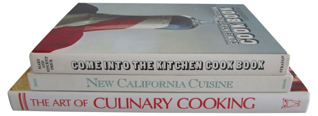 White Cookbook Collection, S/3