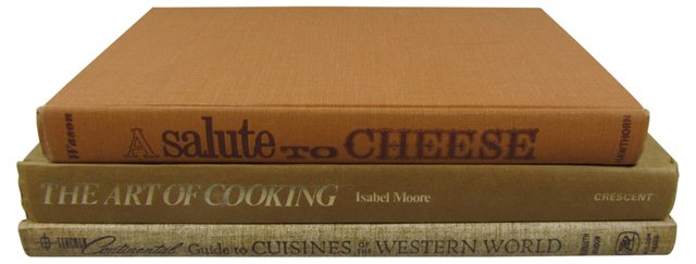 Cookbook Collection, S/3