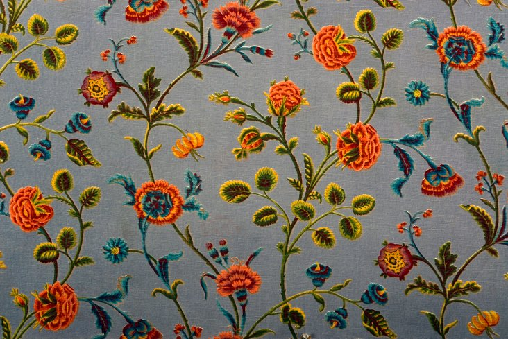 Late-19th-C. French Textile