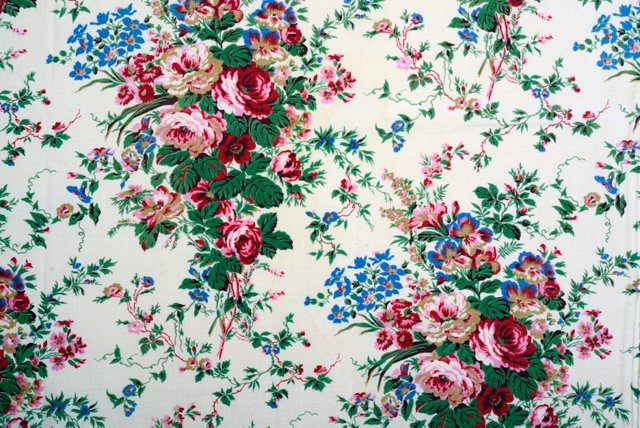 Floral French Fabric