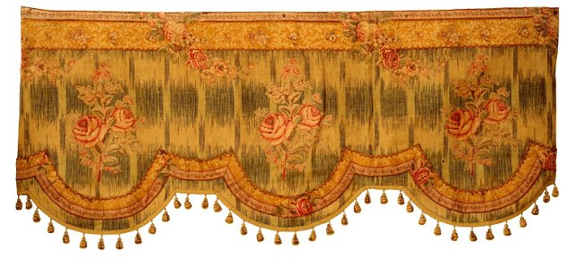 French Linen Valance
