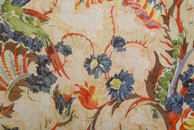 French Linen Textile Fragment