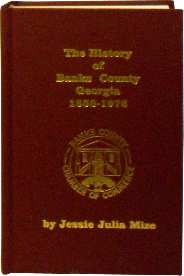 History of Banks County, GA, 1858-1976