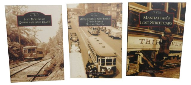 Old Streetcars of New York, Set of 3