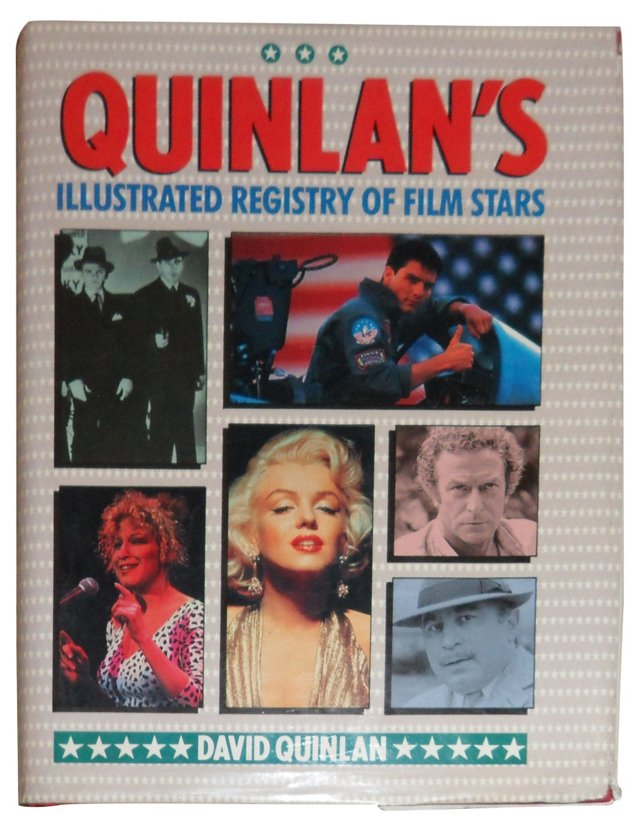 Quinlan's Registry of Film Stars