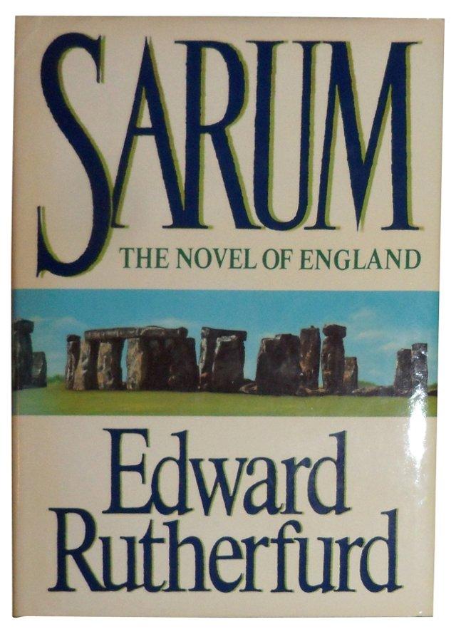 Sarum: Novel of England, 1st US Ed