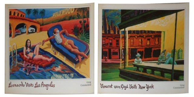 Van Gogh in NY & Leonardo in LA, Pair