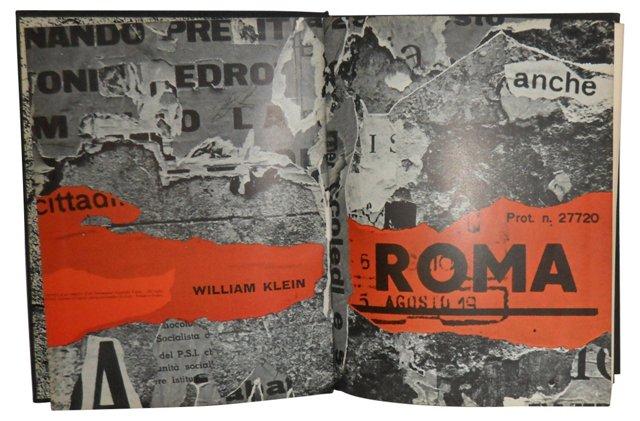 William Klein: Rome, 1st Ed