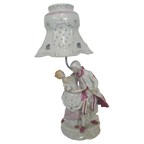 Porcelain Figural Table Lamp