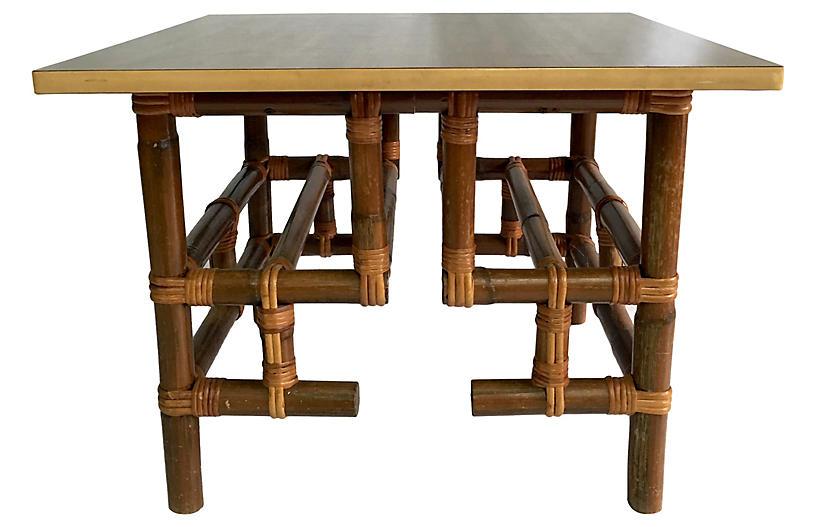 Calif-Asia Rattan Coffee Table