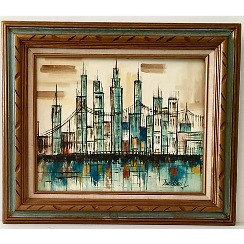 Cityscape by Hadley