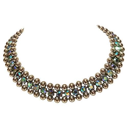 Sterling & Swarovski Crystal Necklace