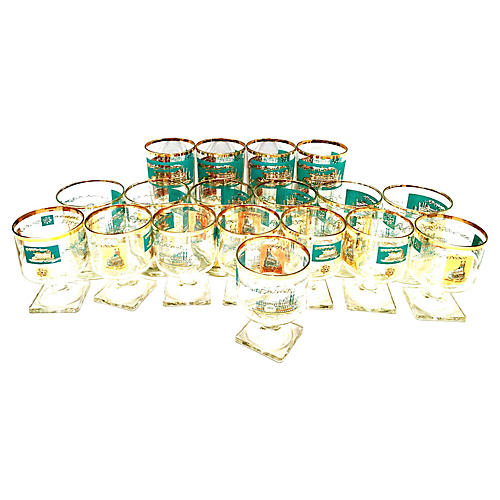Riverboat Glasses, S/18
