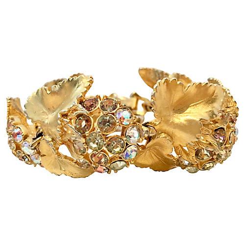 1950s Elsa Schiaparelli Gold Bracelet