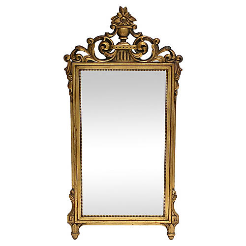French Regency-Style Giltwood Mirror