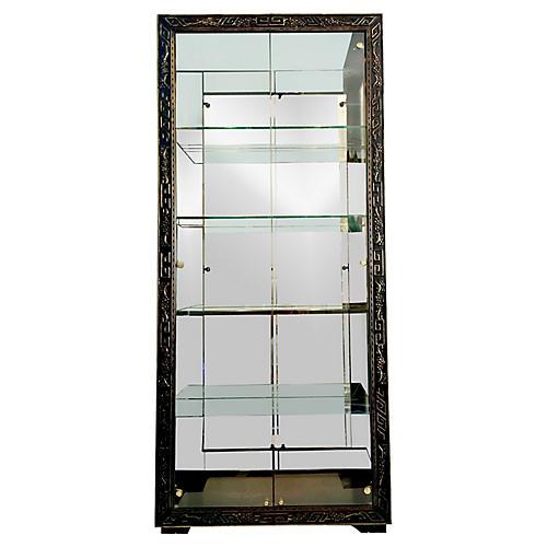 Electrified Etegere Cabinet by Henredon