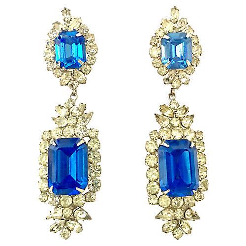 Austrian Crystal & Glass Earrings