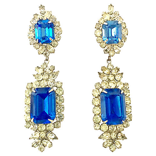 Austrian Crystal & Glass Earrings